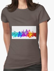 san francisco city skyline Womens Fitted T-Shirt
