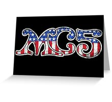Stars and Stripes (distressed) Greeting Card