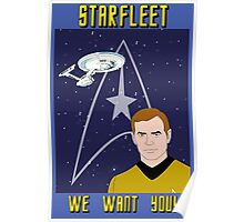 Star Trek Recruit Poster