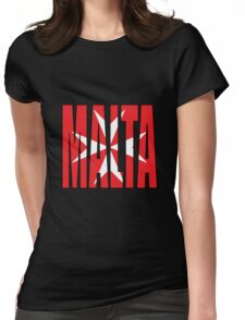 Malta Womens Fitted T-Shirt