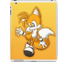 """Miles """"Tails"""" Prower iPad Case/Skin"""