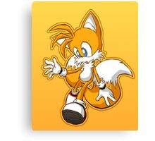 """Miles """"Tails"""" Prower Canvas Print"""
