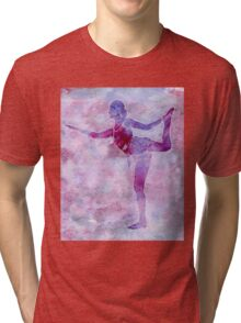 Ballerina Arabesque Tri-blend T-Shirt