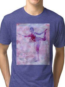 Ballerina Arabesque Tri-blend T-Shirt