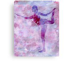 Ballerina Arabesque Canvas Print