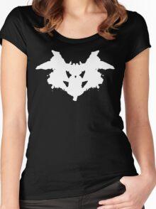 Rorschach Inkblot Women's Fitted Scoop T-Shirt