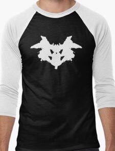 Rorschach Inkblot Men's Baseball ¾ T-Shirt