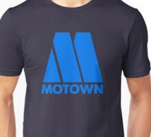 MOTOWN DISCO RECORDS (BLUE) Unisex T-Shirt