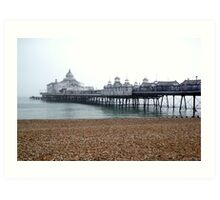 Eastbourne Pier in October Art Print