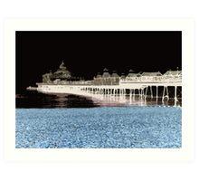 Eastbourne Pier Pop  Art Print