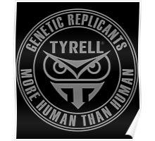 TYRELL CORPORATION - BLADE RUNNER (GREY) Poster