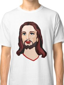 Jesus Portrait Illustration Classic T-Shirt