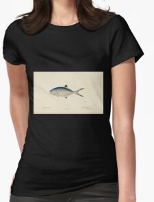 Natural History Fish Histoire naturelle des poissons Georges V1 V2 Cuvier 1849 018 Womens Fitted T-Shirt