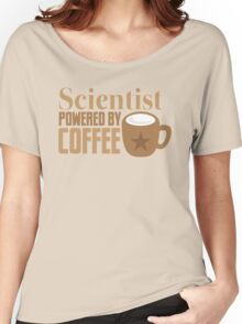 Scientist powered by coffee Women's Relaxed Fit T-Shirt