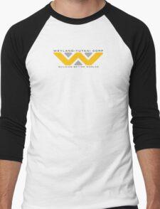 Weyland-Yutani (black font) Men's Baseball ¾ T-Shirt