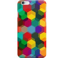 Colorful Hexagon Pattern iPhone Case/Skin