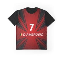 Formula E 2015/2016 - #7 D'Ambrosio Graphic T-Shirt