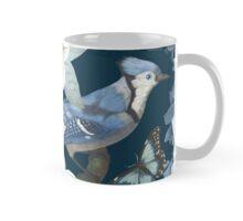 Bluebird Floral Mug
