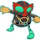 Kamen Rider OOO  by Smars