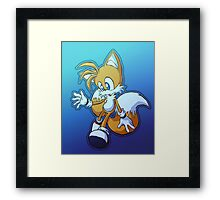 "Miles ""Tails"" Prower (""Ice"" Edition) Framed Print"
