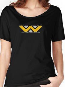 Weyland-Yutani (white font) Women's Relaxed Fit T-Shirt