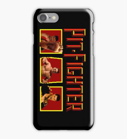 PIT FIGHTER CLASSIC ARCADE GAME iPhone Case/Skin