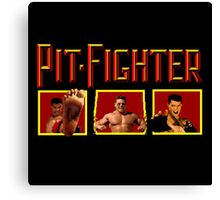 PIT FIGHTER CLASSIC ARCADE GAME Canvas Print