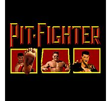 PIT FIGHTER CLASSIC ARCADE GAME Photographic Print