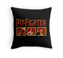PIT FIGHTER CLASSIC ARCADE GAME Throw Pillow