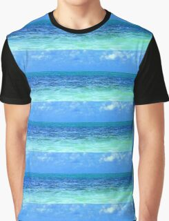 Sky and Ocean Graphic T-Shirt