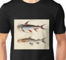 Naturgeschichte in Bildern mit erläuterndem Text E Strack 1820 Lief 4 Fish 117 Unisex T-Shirt