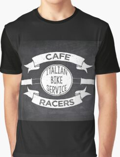 Italian Bike Service Cafe Racers Graphic T-Shirt