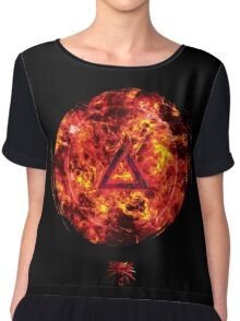 The Witcher Professional Series - IGNI (Symbol) Chiffon Top