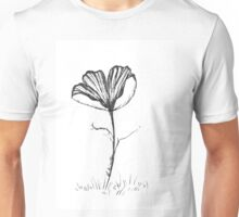 Lonely Poppy Unisex T-Shirt