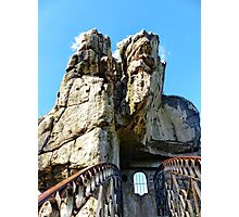 On Top of the Externsteine, Teutoburg Forest, Germany Photographic Print