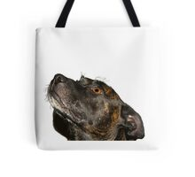 The cutest staffie Tote Bag