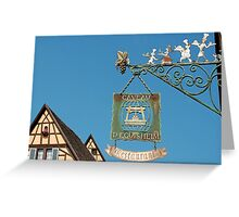 Eguisheim - Alsace - France Greeting Card
