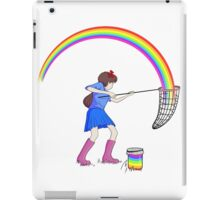 Jar full of rainbows iPad Case/Skin