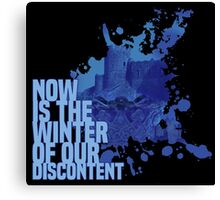 Now Is The Winter Of Our Discontent Canvas Print