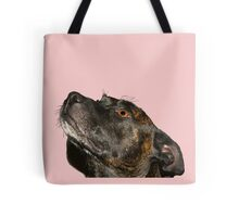 quartz staffie Tote Bag