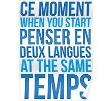 Start Penser En Deux Langues At Same Temps Poster