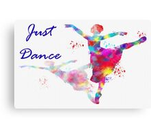 just dance ballerina Canvas Print