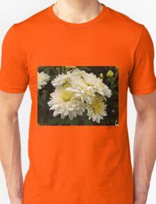 White Mums I Unisex T-Shirt