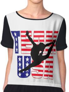 Team USA Gymnastics Chiffon Top