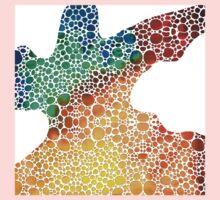 Modern Art - Colorforms 1 - Sharon Cummings Kids Tee