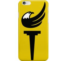 Libertarian Party Capitalism Torch Freedom iPhone Case/Skin