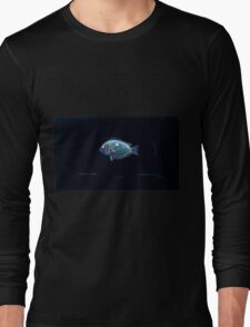 Natural History Fish Histoire naturelle des poissons Georges V1 V2 Cuvier 1849 111 Inverted Long Sleeve T-Shirt