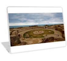 France - Normandy cliff in 2009 Laptop Skin