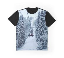 Chair Lift Graphic T-Shirt