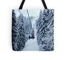 Chair Lift Tote Bag